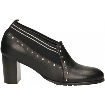 Zapatos Mujer Derbie Essex VITELLO nero-argento
