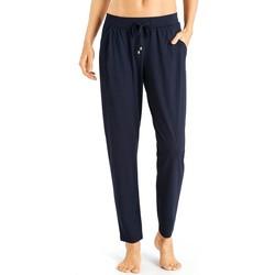 textil Mujer Pijama Hanro Pantalones  Sleep&Lounge 077880 Marino