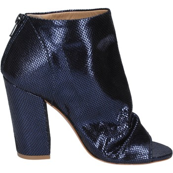 Zapatos Mujer Low boots Me + By Marc Ellis botines cuero azul