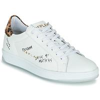 Zapatos Mujer Zapatillas bajas Replay MELANIA Blanco