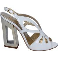 Zapatos Mujer Sandalias Me + By Marc Ellis sandalias charol blanco