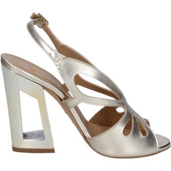 Zapatos Mujer Sandalias Me + By Marc Ellis sandalias cuero dorado