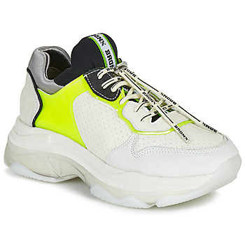 Zapatos Mujer Zapatillas bajas Bronx BAISLEY Blanco / Amarillo