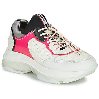 Zapatos Mujer Zapatillas bajas Bronx BAISLEY Blanco / Rosa