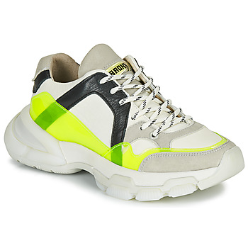 Zapatos Mujer Zapatillas bajas Bronx SEVENTY STREET Blanco / Amarillo