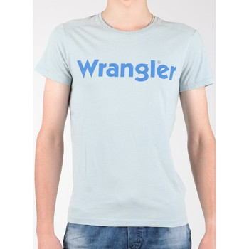 textil Hombre Camisetas manga corta Wrangler S/S Graphic Tee W7A64DM3E gris