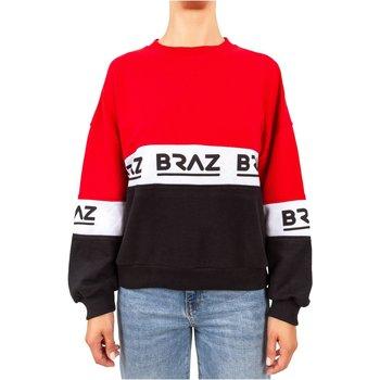 textil Sudaderas Braz Jersey & chalecos 120972TSH - Mujer roja