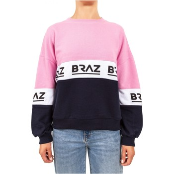 textil Sudaderas Braz Jersey & chalecos 120972TSH - Mujer rosa