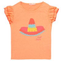 textil Niña camisetas manga corta Billieblush / Billybandit NORE Naranja