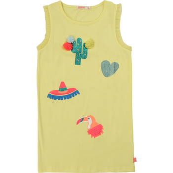 textil Niña vestidos cortos Billieblush / Billybandit NIAMO Amarillo