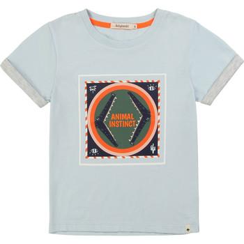 textil Niño camisetas manga corta Billieblush / Billybandit NOLVIO Azul