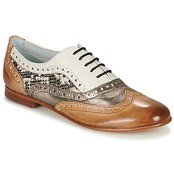 Zapatos Mujer Bailarinas-manoletinas Melvin & Hamilton SONIA 1 Marrón / Beige