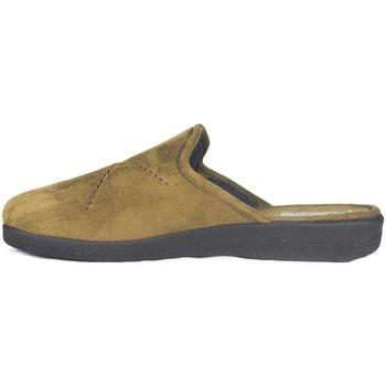 Zapatos Hombre Pantuflas Roal Zapatillas De Casa  859 Camello Marrón