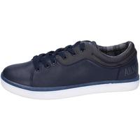 Zapatos Hombre Zapatillas bajas Armata Di Mare sneakers cuero sintético azul