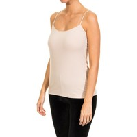 Ropa interior Mujer Camiseta interior Janira Camiseta de Tirantes Beige
