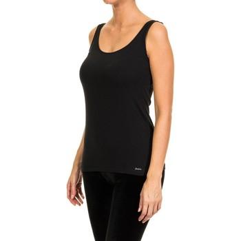 Ropa interior Mujer Camiseta interior Janira Camiseta Tirante Ancho Negro