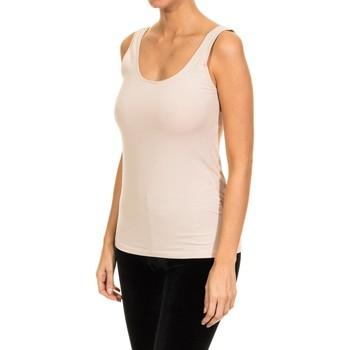 Ropa interior Mujer Camiseta interior Janira Camiseta Tirante Ancho Arena