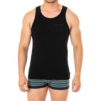Ropa interior Hombre Camiseta interior Cerruti 1881 Underwear Camiseta interior Cerruti Negro