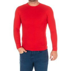 textil Hombre Camisetas manga larga Kisses And Love Camiseta m/larga Kisses&Love Rojo