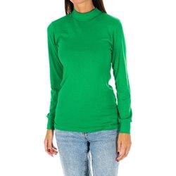 textil Mujer Camisetas manga larga Kisses And Love Camiseta m/larga Kisses&Love Verde