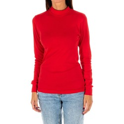 textil Mujer Camisetas manga larga Kisses And Love Camiseta m/larga Kisses&Love Rojo