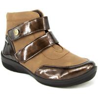 Zapatos Mujer Botines Arcopedico CHARLENE TAUPE MARRON