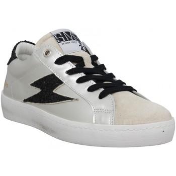 Zapatos Mujer Zapatillas bajas Semerdjian 127281 Gris