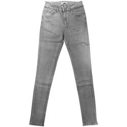 textil Mujer Vaqueros slim By La Vitrine jeans gris RW868 Gris