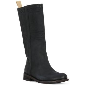 Zapatos Mujer Botas urbanas Felmini BLACK CRONO Nero