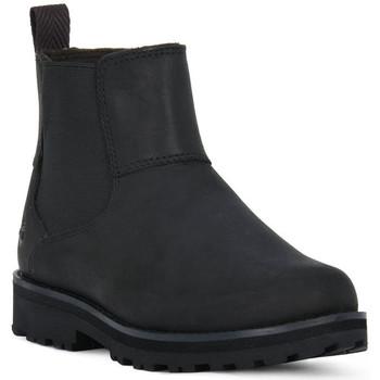 Zapatos Niño Botas de caña baja Timberland COURMA KID CHELSEA Nero