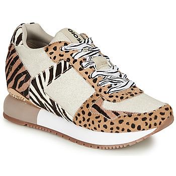 Zapatos Mujer Zapatillas bajas Gioseppo BIKANER Beige / Marrón