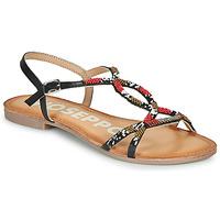 Zapatos Mujer Sandalias Gioseppo PARISH Negro / Rojo