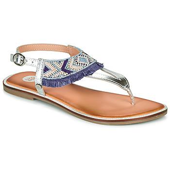 Zapatos Niña Sandalias Gioseppo BERMUDAS Azul / Blanco