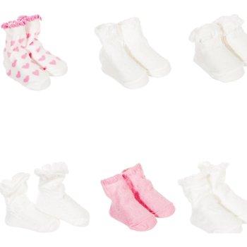 Accesorios Niños Calcetines Le Petit Garçon Pack-6 Calcetines Multicolor-Beige