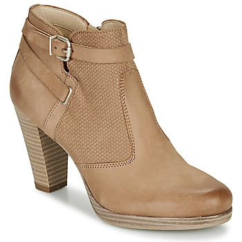 Zapatos Mujer Botines André BERNETTA Camel