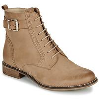 Zapatos Mujer Botas de caña baja André CHEPTELA Camel