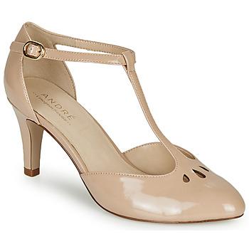 Zapatos Mujer Zapatos de tacón André FALBALETTE Nude