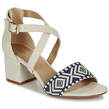 Zapatos Mujer Sandalias André PAOLITA Beige