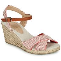 Zapatos Mujer Sandalias André PAULETTA Rojo