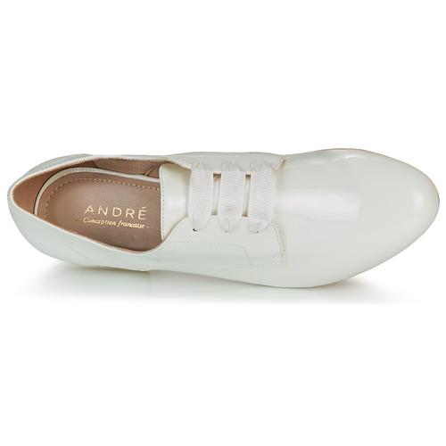 André Ernestine Blanco - Envío Gratis Zapatos Derbie Mujer 36