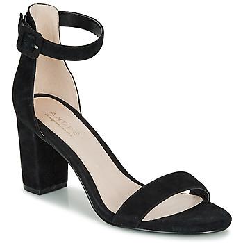 Zapatos Mujer Sandalias André BERTILLE Negro
