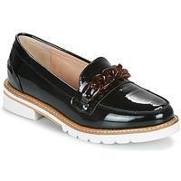 Zapatos Mujer Mocasín André EMA Negro