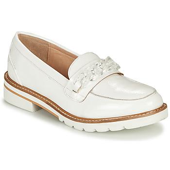 Zapatos Mujer Mocasín André EMA Blanco