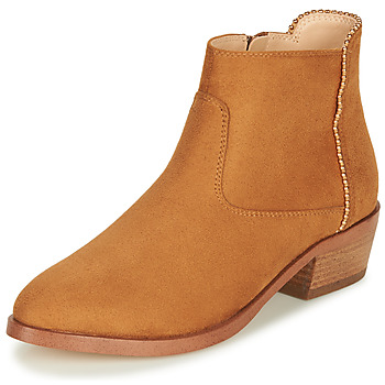 Zapatos Mujer Botas de caña baja André BELEN Camel