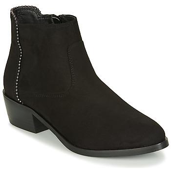 Zapatos Mujer Botas de caña baja André BELEN Negro