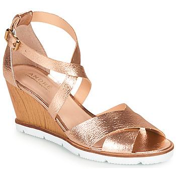 Zapatos Mujer Sandalias André PEONY Oro