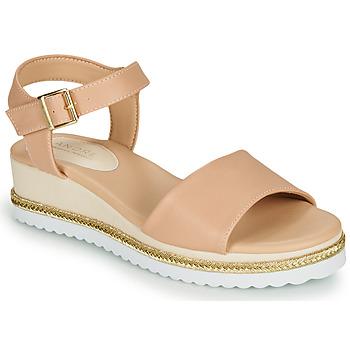 Zapatos Mujer Sandalias André PAULEEN Nude