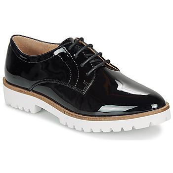 Zapatos Mujer Derbie André EDDYTH Negro / Barniz