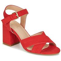 Zapatos Mujer Sandalias André JACYNTH Rojo