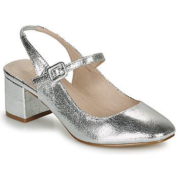 Zapatos Mujer Bailarinas-manoletinas André JONNA Plata